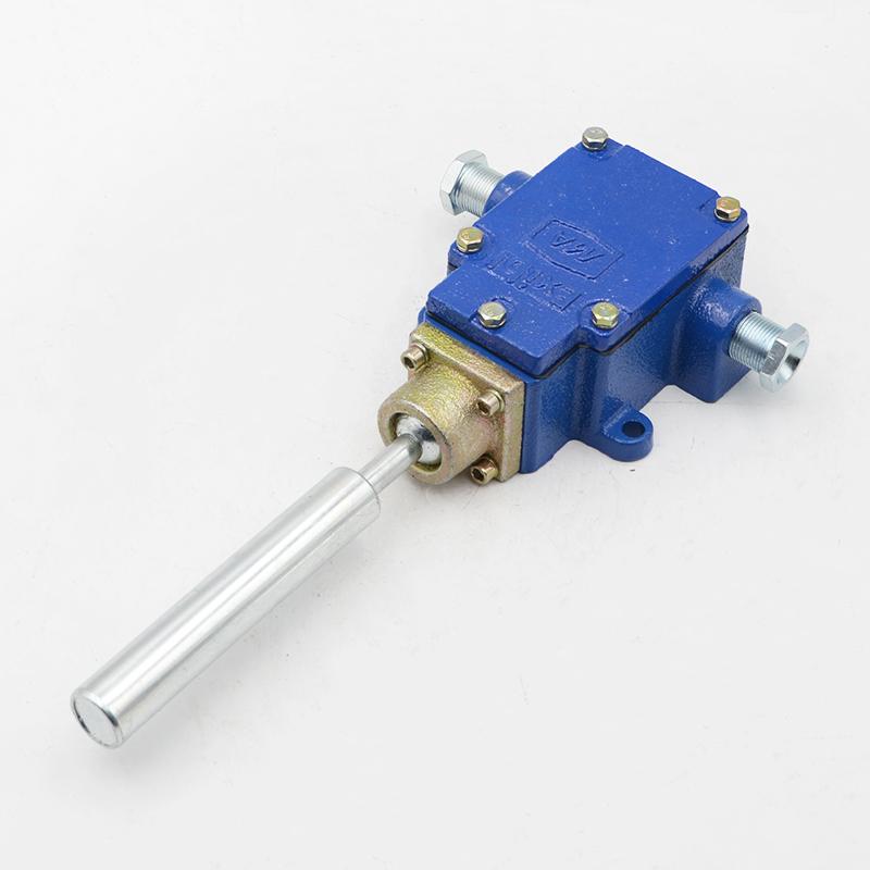 矿用本安型跑偏传感器GEJ30 皮带机保护器
