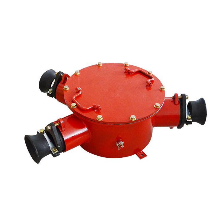 矿用隔爆型高压电缆接线盒3通 BHG1-400/10-3G..