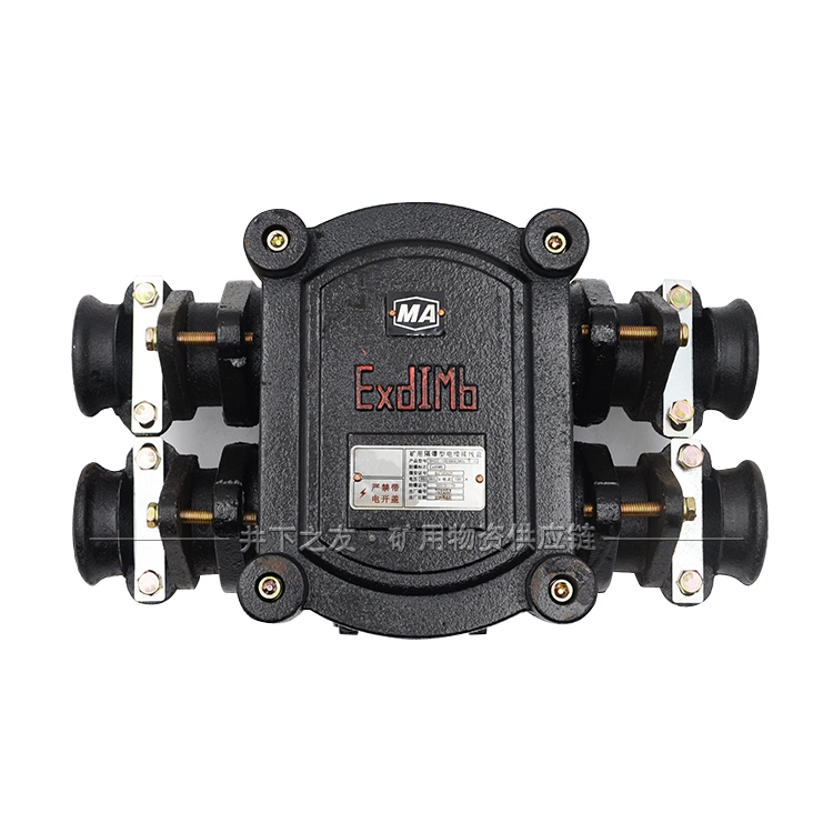 矿用隔爆型低压电缆接线盒BHD2-100/660(380)-4T